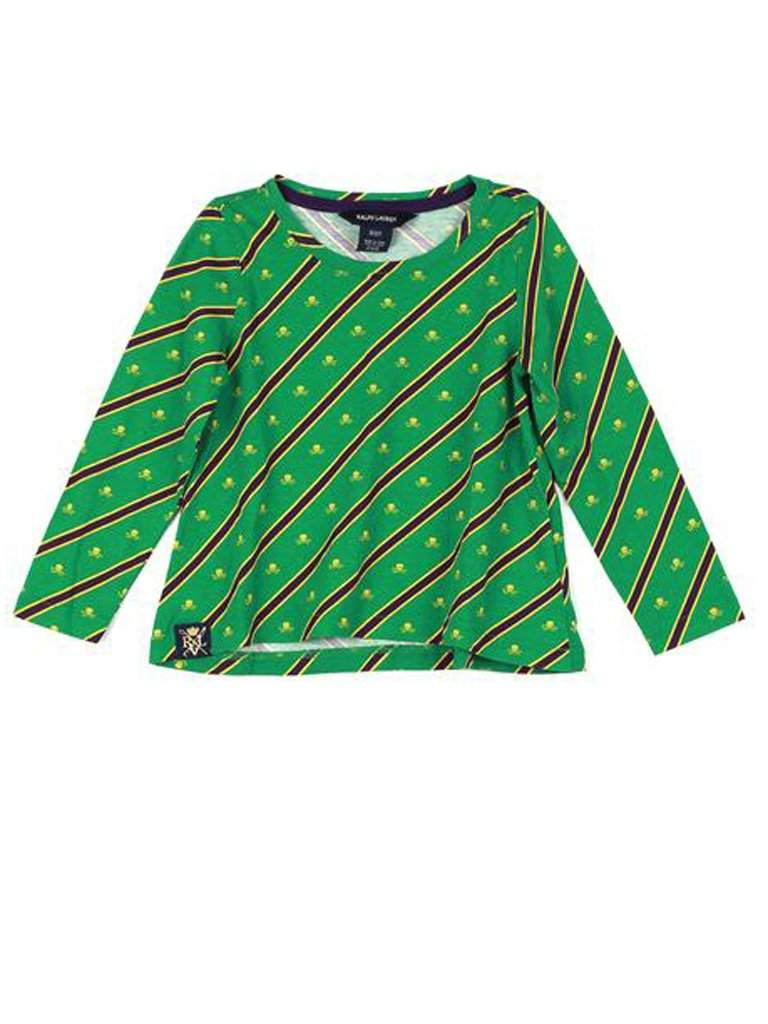 Ralph Lauren Crossbones Striped Top Girls by Ralph Lauren - My100Brands