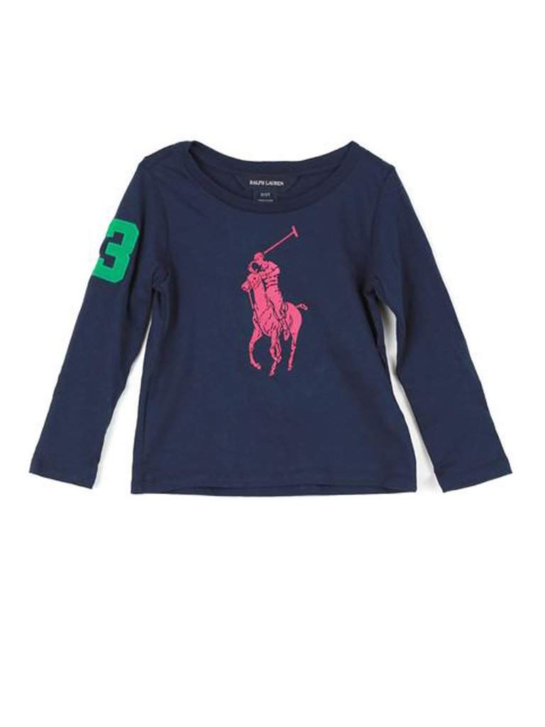 Ralph Lauren Little Girls' Pima Cotton Tee by Ralph Lauren - My100Brands