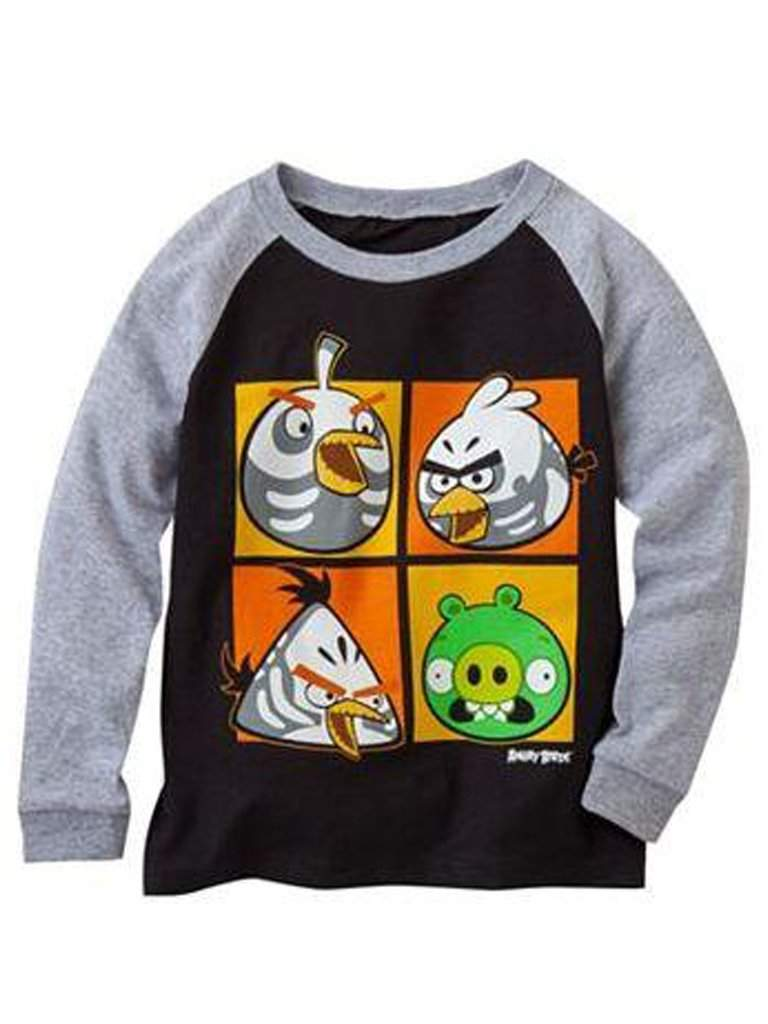 Angry Birds Costume Raglan Boys' Tee by Angry Birds - My100Brands