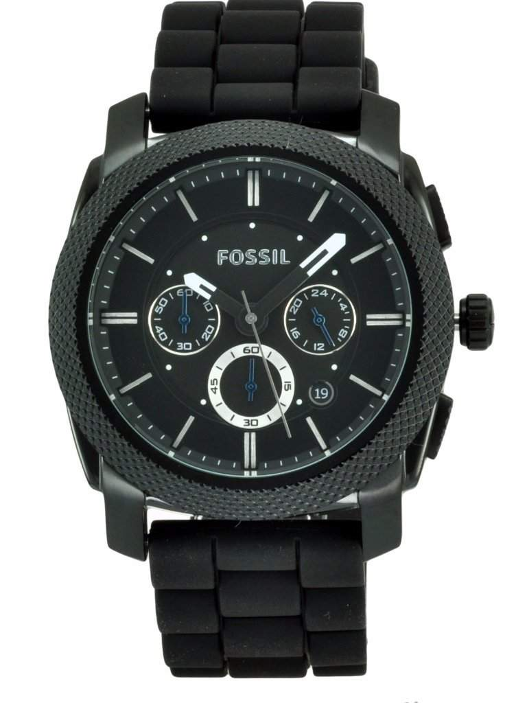 Fossil Silicone Analog Quartz Men's Watch by Fossil - My100Brands