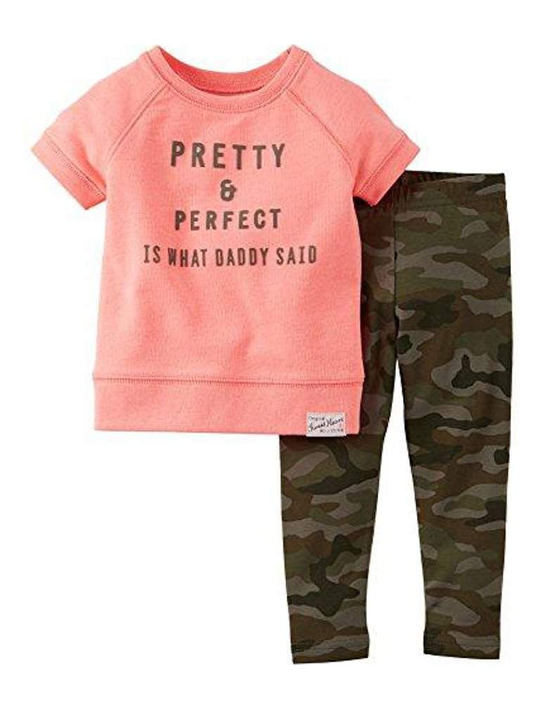 Carter's Girl's Pretty and Perfect Leggings Set by Carters - My100Brands