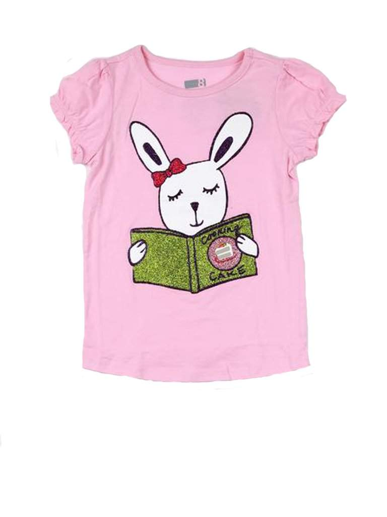 Reading Rabbit Girls' T-shirt by My100Brands - My100Brands