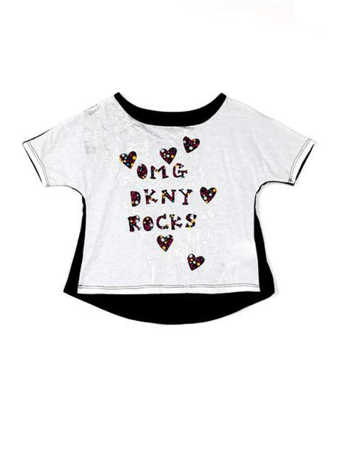 DKNY Girls' Omg Rock Top by DKNY - My100Brands