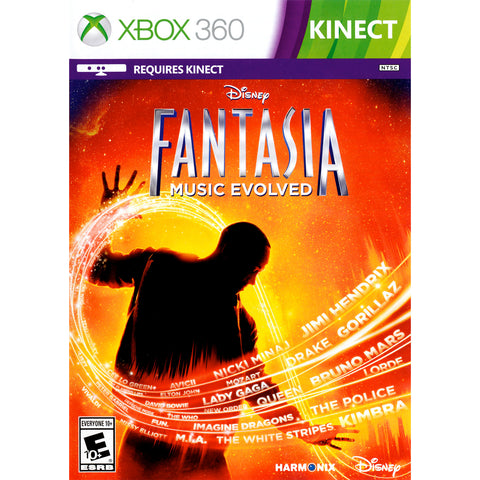 Disney Fantasia: Music Evolved for Xbox 360 by Disney - My100Brands