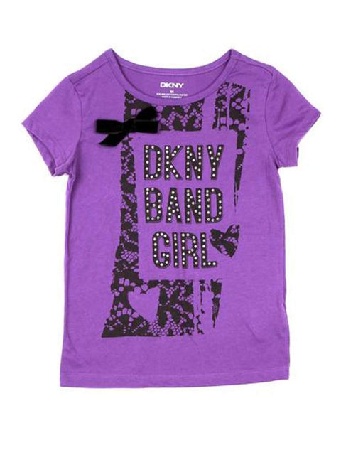 DKNY Girls Short Sleeve T-Shirt by DKNY - My100Brands