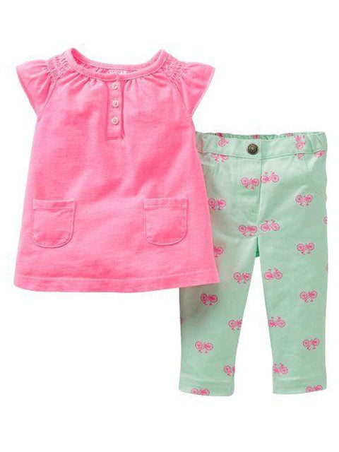Carter's Baby Girl Bicycle Jegging Set by Carters - My100Brands