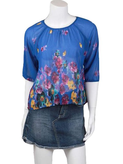 Chord Girl's Chiffon Top by My100Brands - My100Brands
