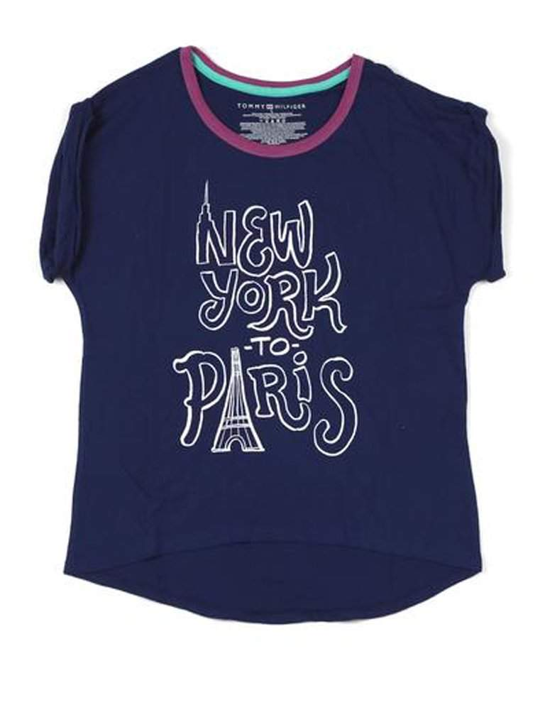 Tommy Hilfiger Girls' New York to Paris Tee by Tommy Hilfiger - My100Brands