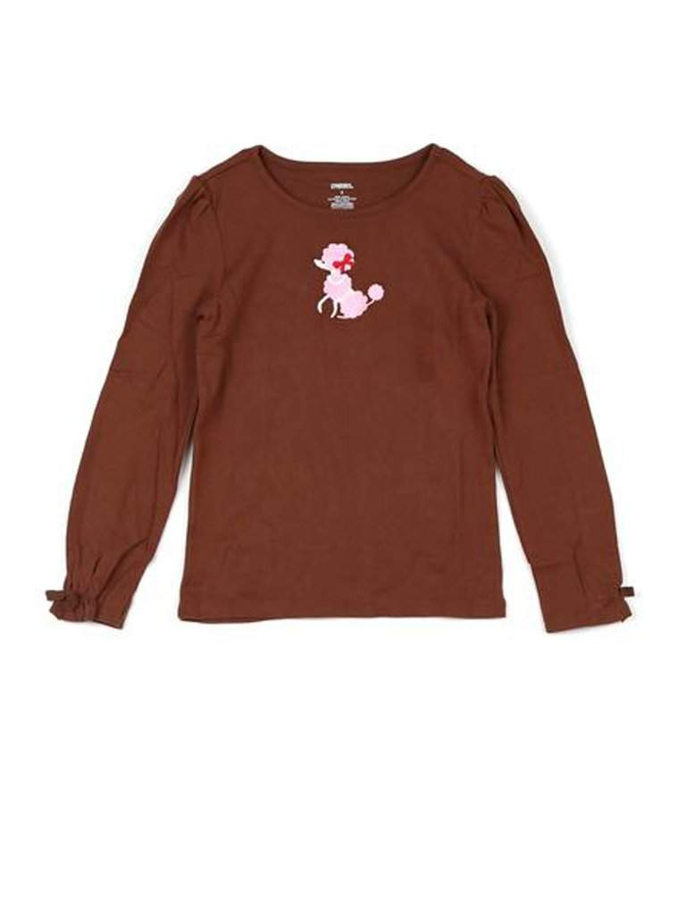 Girl's Poodle Dog Shirt by My100Brands - My100Brands