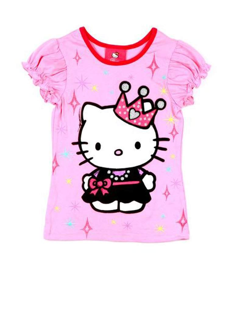 Hello Kitty Puff Sleeved Tees by Hello Kitty - My100Brands