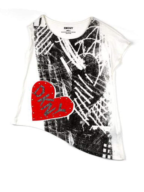 DKNY Heart Logo Tee by DKNY - My100Brands