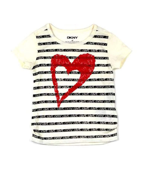 DKNY Big Heart Tee by DKNY - My100Brands