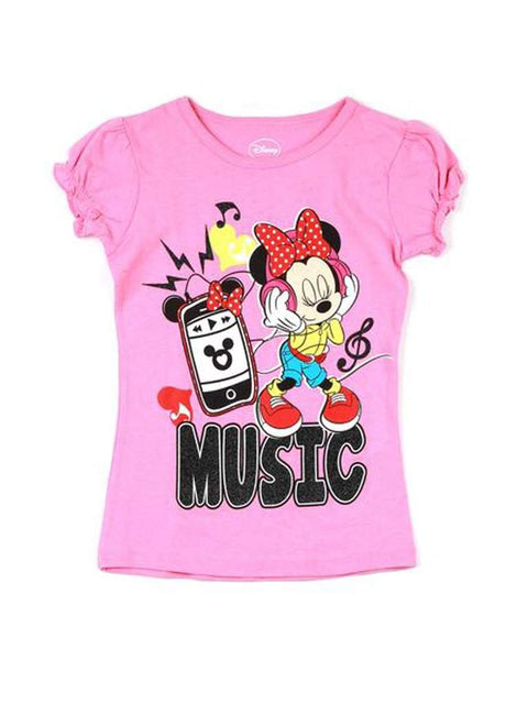 "Disney Minnie Mouse ""Minnie"" T-Shirt by Disney - My100Brands"