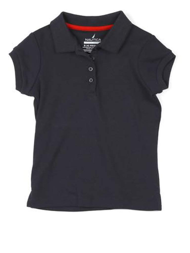 Nautica Sportswear Short Sleeve Polo With Pico by Nautica - My100Brands