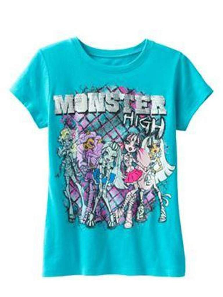 Monster High Girl's Tee by Monster High - My100Brands