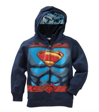 Superman Costume Boys' Hoodie by Superman - My100Brands