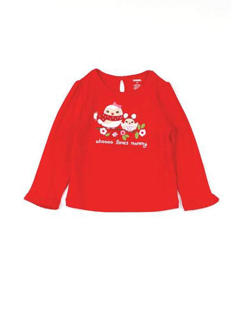 Whooo Loves Mommy Long Sleeve Tee by My100Brands - My100Brands