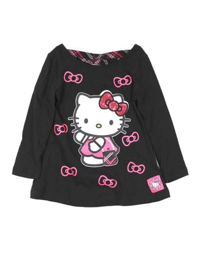 Hello Kitty Girl's Plaid Tunic by Hello Kitty - My100Brands