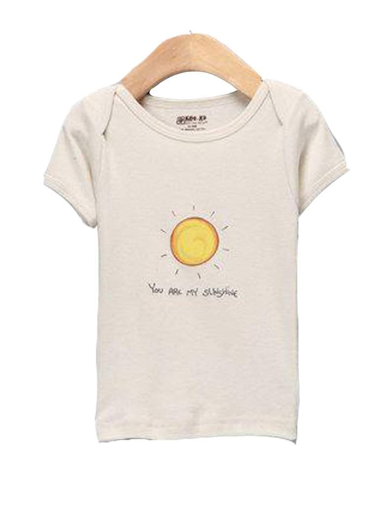 Kee-Ka Organics Short Sleeve Lap Tee - You Are My Sunshine by Kee-Ka Organics - My100Brands