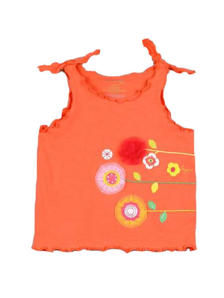 Floral Applique Top by My100Brands - My100Brands
