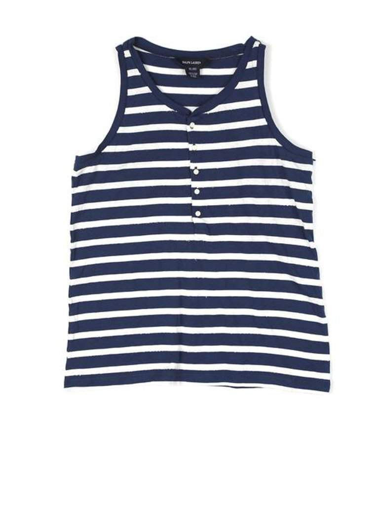 Ralph Lauren Girls' Jersey Stripe Top by Ralph Lauren - My100Brands