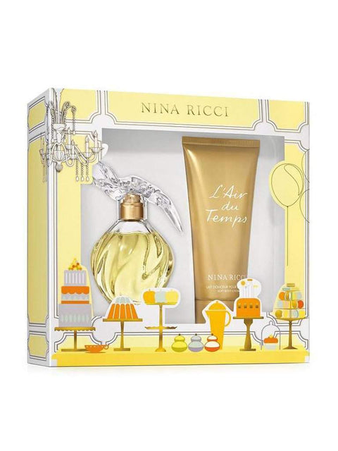 Nina Ricci L'air du Temps Women's Perfume Gift Set by Nina Ricci - My100Brands