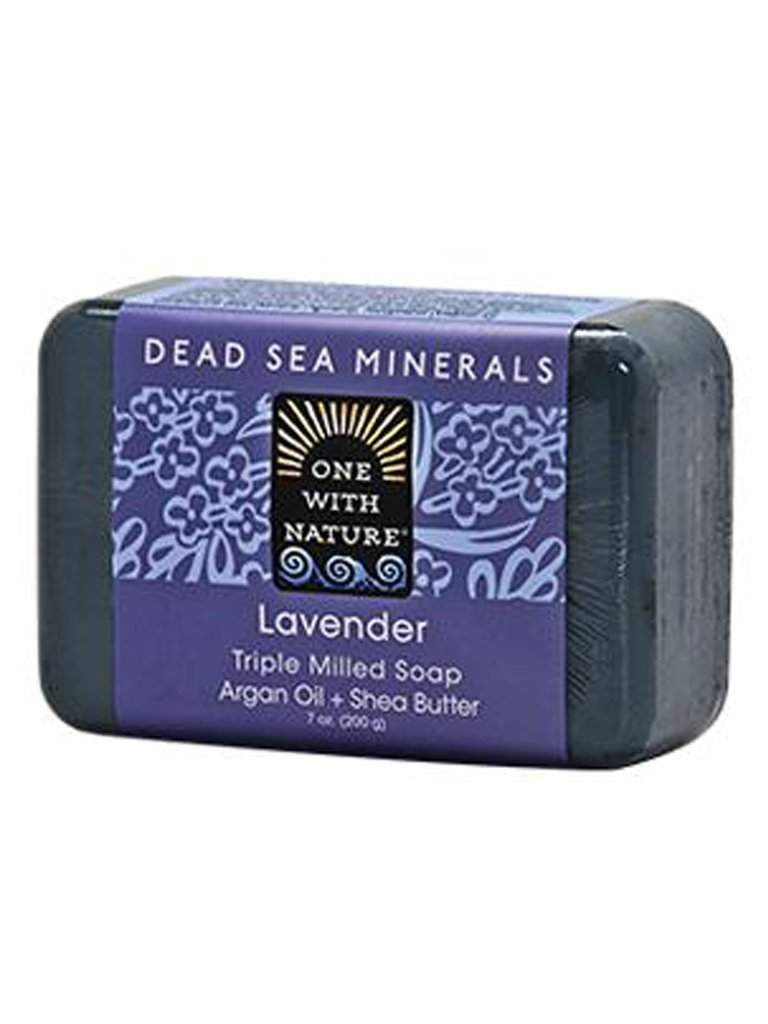 Lavender Shea and Argan Soap - 7 oz by One With Nature - My100Brands