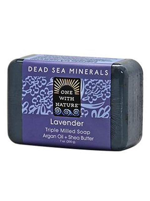 Lavender Shea/Argan Soap - 7 oz by One With Nature - My100Brands