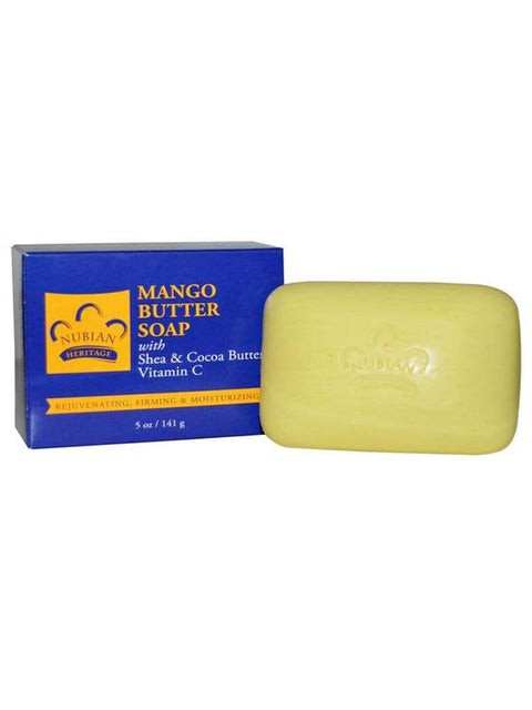 Mango Butter Soap - 5 oz by Nubian Heritage - My100Brands