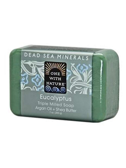 Eucalyptus Shea/Argan Soap - 7 oz by One With Nature - My100Brands