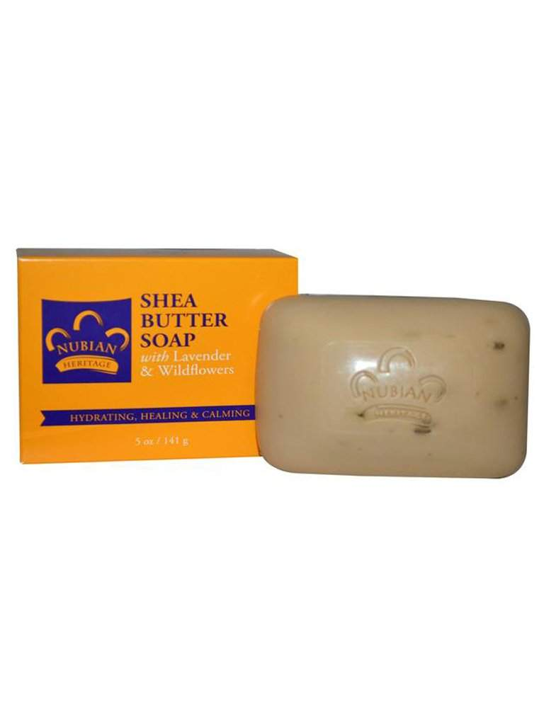 Lavender Shea Butter Soap - 5 oz by Nubian Heritage - My100Brands