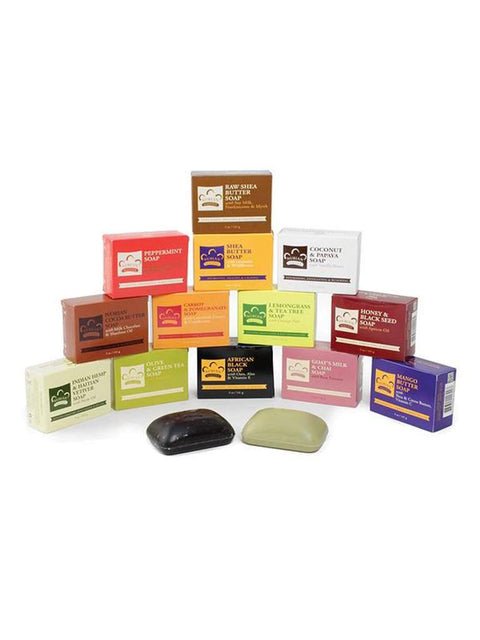 Set Of All 13 Nubian Heritage Soaps by Nubian Heritage - My100Brands