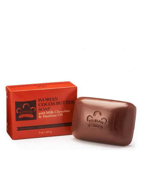 Cocoa Butter & Chocolate Soap - 5 oz. by Nubian Heritage - My100Brands