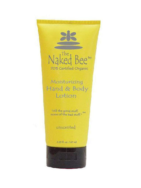 Naked Bee - Unscented Lotion - 2,25 fl oz by The Naked Bee - My100Brands