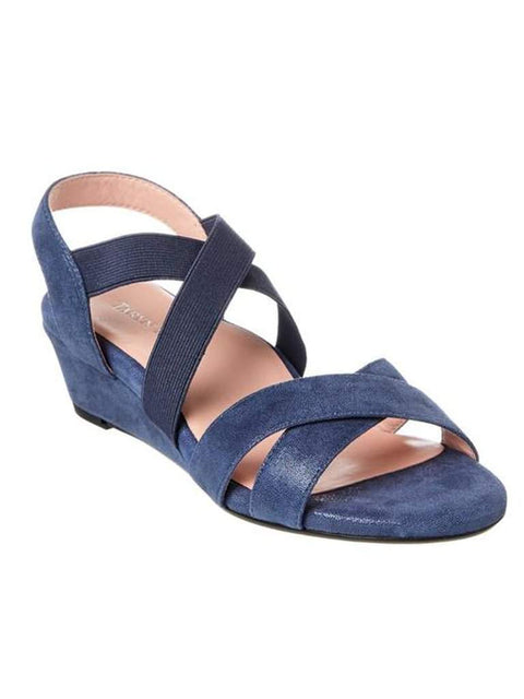 Taryn Rose Spiro Demi-Wedge Sandal by My100Brands - My100Brands