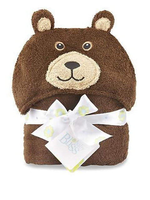 Baby Bliss Bear Hooded Towel by Baby Bliss - My100Brands