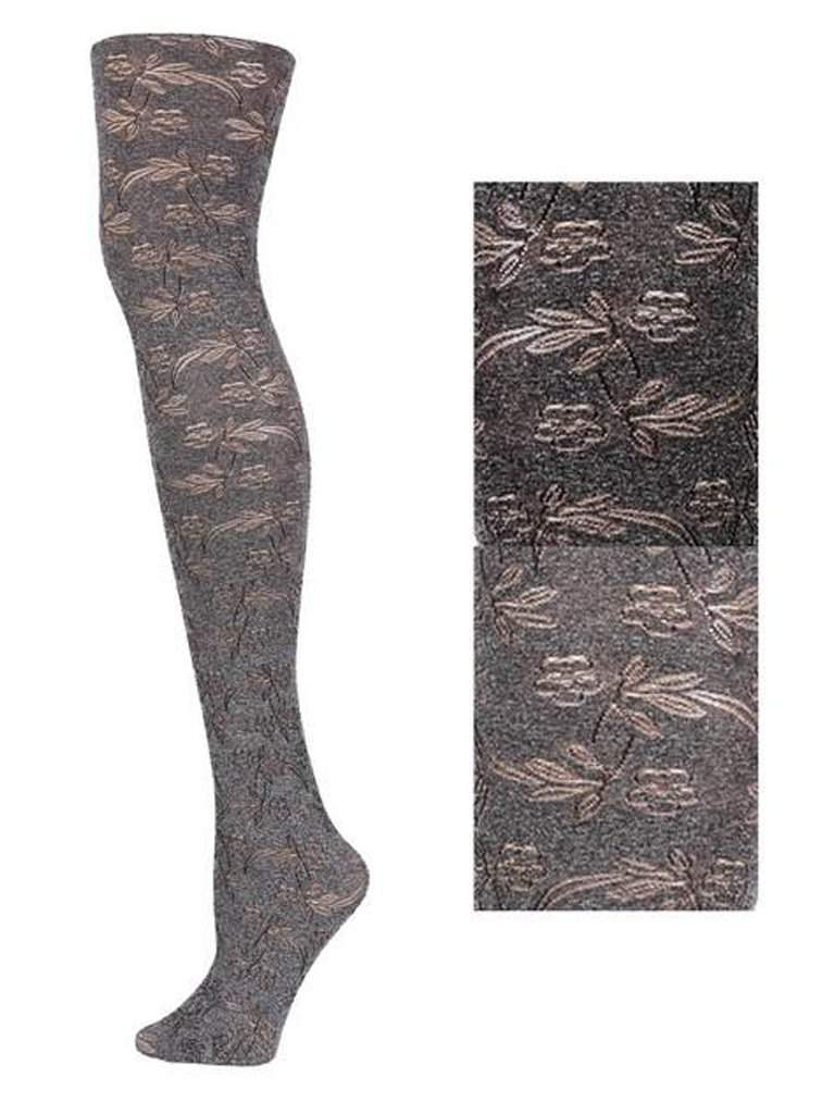 Lady's Five Petal Fashion Tights by My100Brands - My100Brands