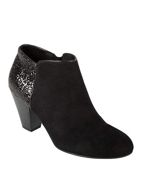 Metaphor Women's Terry Western Glitter Booties by Metaphor - My100Brands