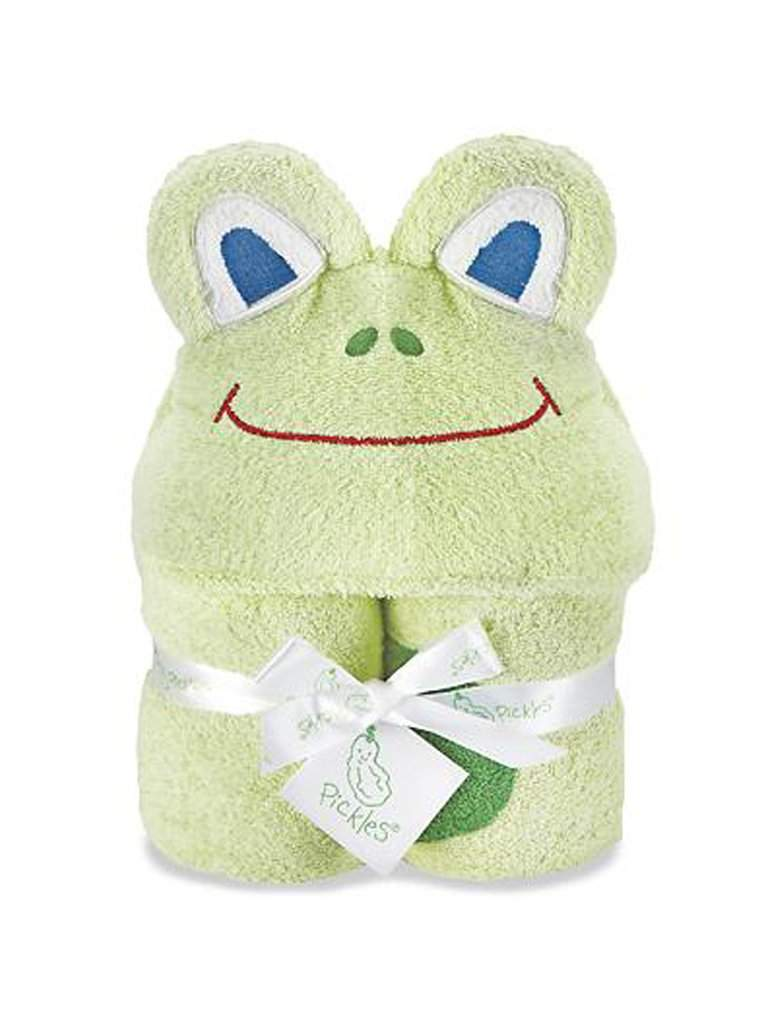 Baby Bliss Frog Hooded Towel by Baby Bliss - My100Brands