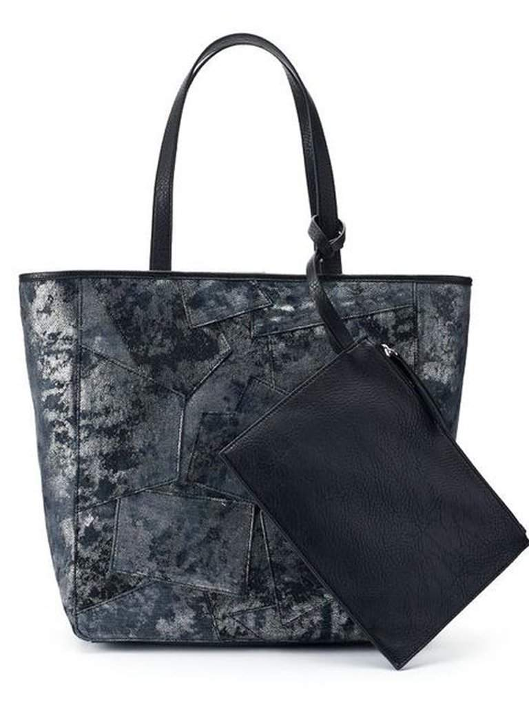 Juicy Couture Right Now Denim Tote with Pouch by Juicy Couture - My100Brands