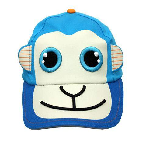 Safari Kids Mason The Blue Monkey Ball Cap by Safari Kids - My100Brands
