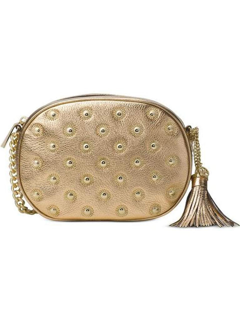Michael Kors Ginny Studded Medium Messenger by Michael Kors - My100Brands