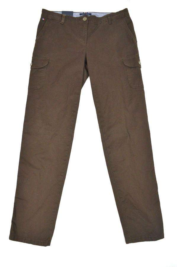 Tommy Hilfiger Women's Slim Leg Cargo Pants by Tommy Hilfiger - My100Brands