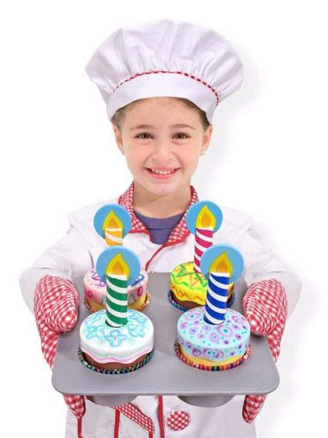 Melissa & Doug Bake and Decorate Cupcake Set by Melissa & Doug - My100Brands