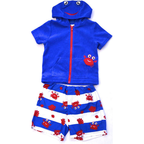 Wippette Swimwear Boys' 2-Pc Set - Royal Blue by Wippette - My100Brands