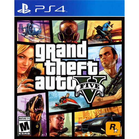 Grand Theft Auto V for PS4 by Rockstar - My100Brands