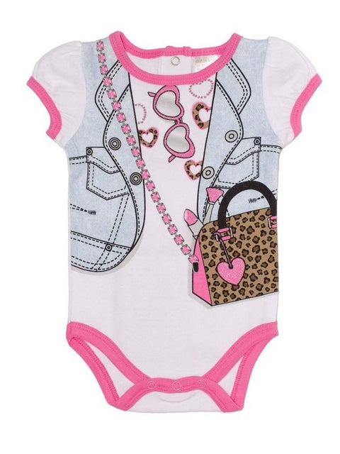 Cutie Pie Girls' Dress Up Bodysuit - I Love Shopping by Cutie Pie - My100Brands