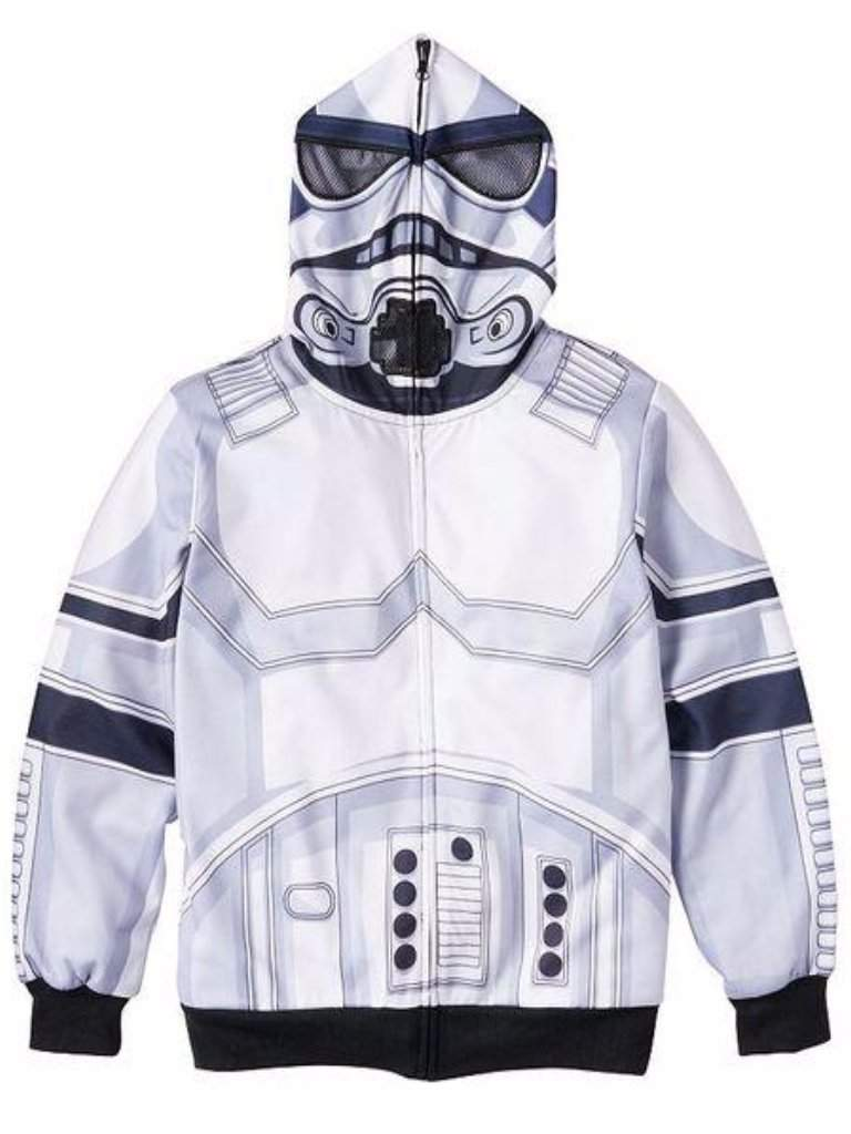 Boy's Star Wars Stormtrooper Hoodie by My100Brands - My100Brands