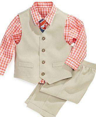 Nautica Little Boys' Vest Suit 4-Pc Set by Nautica - My100Brands