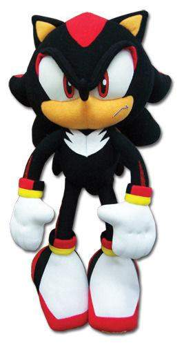 "8"" Sonic Plush Doll Black Hedgehog by Sonic - My100Brands"